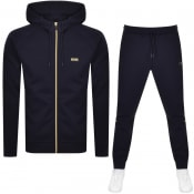 Product Image for BOSS Saggy Full Zip Tracksuit Navy