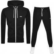 Product Image for BOSS Saggy Full Zip Tracksuit Black