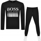 Product Image for BOSS Sablo Crew Tracksuit Black