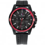 Product Image for Tommy Hilfiger 1791793 Mason Analogue Watch Black