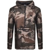 Product Image for adidas Originals Camo Pullover Jacket Green