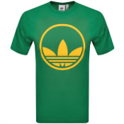 Product Image for adidas Originals Circle Trefoil T Shirt Green