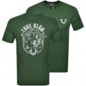 Product Image for True Religion Logo T Shirt Green