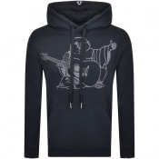 Product Image for True Religion Logo Hoodie Navy