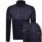 Product Image for Paul And Shark Funnel Neck Jacket Navy