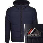 Product Image for Superdry Padded Sports Jacket Navy