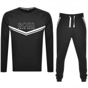 Product Image for BOSS Bodywear Tracksuit Black