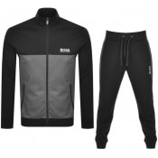 Product Image for BOSS Bodywear Logo Tracksuit Black