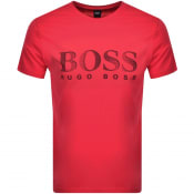Product Image for BOSS UV Protection Logo T Shirt Pink