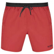 Product Image for BOSS Starfish Swim Shorts Red