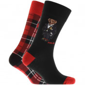 Product Image for Ralph Lauren Two Pack Bear Socks