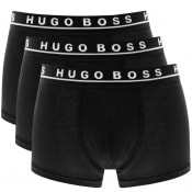 Product Image for BOSS Underwear Triple Pack Boxer Trunks Black