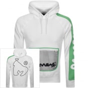 Product Image for Money Trek Off Logo Hoodie White