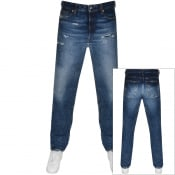 Product Image for Diesel D Macs Straight Fit Jeans Blue