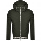 Product Image for Emporio Armani Full Zip Hooded Jacket Green