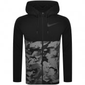 Product Image for Nike Training Full Zip Camo Dry Hoodie Black