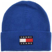 Product Image for Tommy Jeans Heritage Beanie Hat Blue