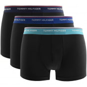 Product Image for Tommy Hilfiger Underwear 3 Pack Trunks Black
