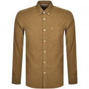 Product Image for Calvin Klein Corduroy Long Sleeved Shirt Brown