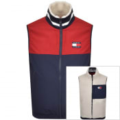 Product Image for Tommy Jeans Reversible Retro Gilet Beige