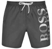 Product Image for BOSS Octopus Swim Shorts Grey