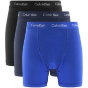 Product Image for Calvin Klein Underwear 3 Pack Boxer Shorts Blue