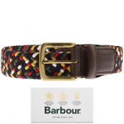 Product Image for Barbour Stretch Webbing Belt Brown