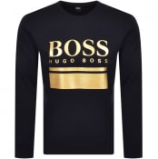 Product Image for BOSS Salbo1 Sweatshirt Navy