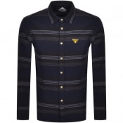 Product Image for Barbour Beacon Long Sleeve Bakewell Shirt Navy