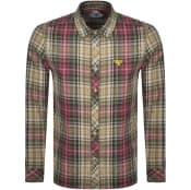 Product Image for Barbour Beacon Long Sleeve Cornerstone Shirt Beige