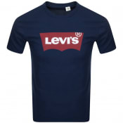 Product Image for Levis Logo T Shirt Blue