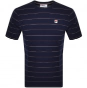 Product Image for Fila Vintage Leon T Shirt Navy