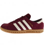 Product Image for adidas Originals Hamburg Trainers Burgundy