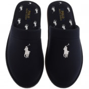Product Image for Ralph Lauren Klarence Mule Slippers Navy