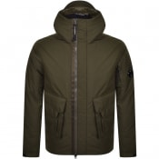 Product Image for CP Company Hooded Jacket Khaki