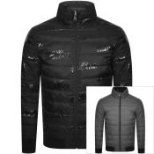 Product Image for Armani Exchange Reversible Padded Jacket Black