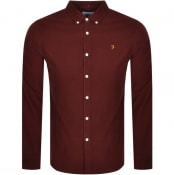 Product Image for Farah Vintage Fontella Long Sleeve Shirt Brown
