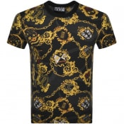 Product Image for Versace Jeans Couture Slim T Shirt Black