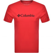 Product Image for Columbia Basic Logo T Shirt Red