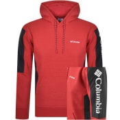 Product Image for Columbia River Logo Hoodie Red