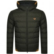 Product Image for Fred Perry Hooded Jacket Green