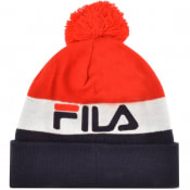 Product Image for Fila Vintage Kato Turn Up Beanie Hat Red