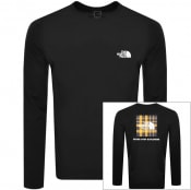 Product Image for The North Face Long Sleeve Redbox T Shirt Black