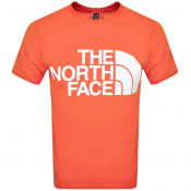 Product Image for The North Face Standard T Shirt Red