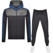 Product Image for EA7 Emporio Armani Logo Tracksuit Navy