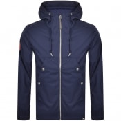 Product Image for Pretty Green Like Minded Soft Shell Jacket Navy