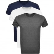 Product Image for Lyle And Scott Three Lounge Pack T Shirts Navy