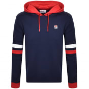 Product Image for Fila Vintage Hurley Contrast Hoodie Navy
