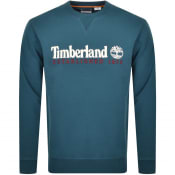 Product Image for Timberland Crew Neck Logo Sweatshirt Green