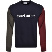 Product Image for Carhartt Tricol Sweatshirt Navy
